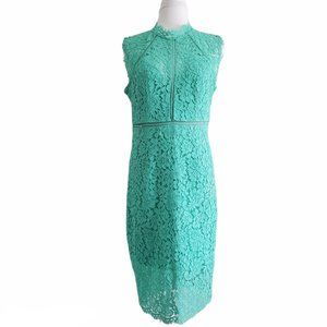 NEW Bardot Allover Lace Sheath Cocktail Dress